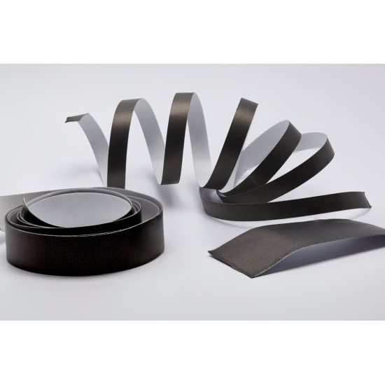 Bandgap RUGGED-BLACK High-Tack & Durable Conductive Fabric Tapes (Various Widths 0.9m Length)