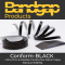 Bandgap Conform - BLACK Ultra-Thin & Flexible Conductive Fabric Tapes (Various Widths 0.9m Length)