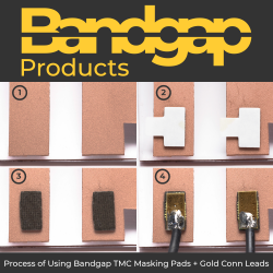 Pack of 50 - Bandgap TMC Conductive Temporary Masking & Connection Pads