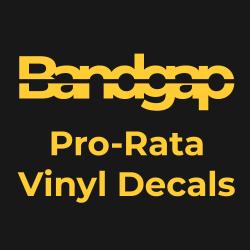 Pro-Rata Vinyl Decals