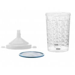 SATA RPS 0.9 l, 125 µm flat sieve [packing unit 40 pieces]