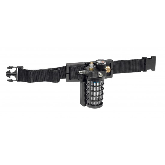 SATA Belt unit with activated charcoal adsorber and air regulation valve [for SATA Air Star C]