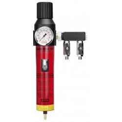 "SATA filter 424 single-stage sinter filter, pressure regulator, outlet module (2 x 1/4"" male thread)"